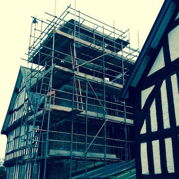 vyrnwy scaffold specialised scaffold